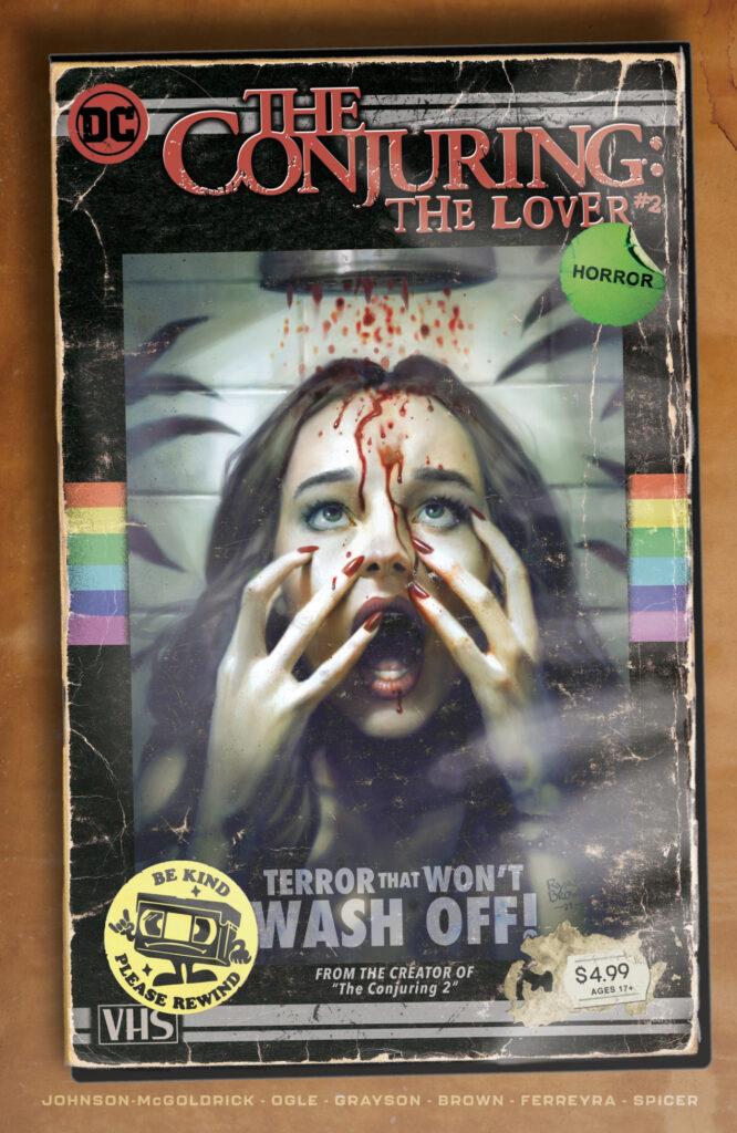 DC sort The Conjuring : The Lover en juin, inaugurant l'imprint DC Horror 36