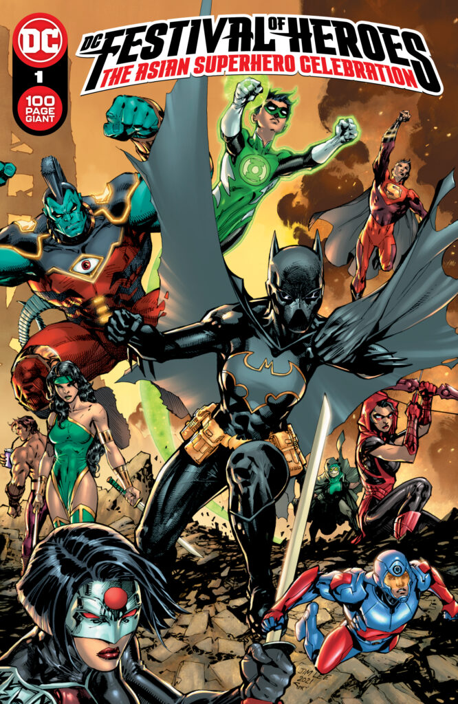 DC présente son nouveau super-héros Monkey Prince dans le one-shot Festival of Heroes 35