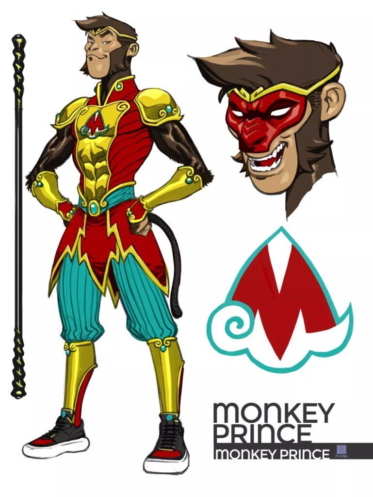 DC présente son nouveau super-héros Monkey Prince dans le one-shot Festival of Heroes 39