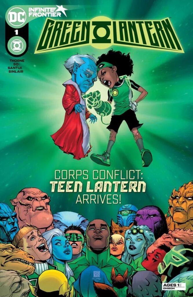Preview VO - Green Lantern #1 33