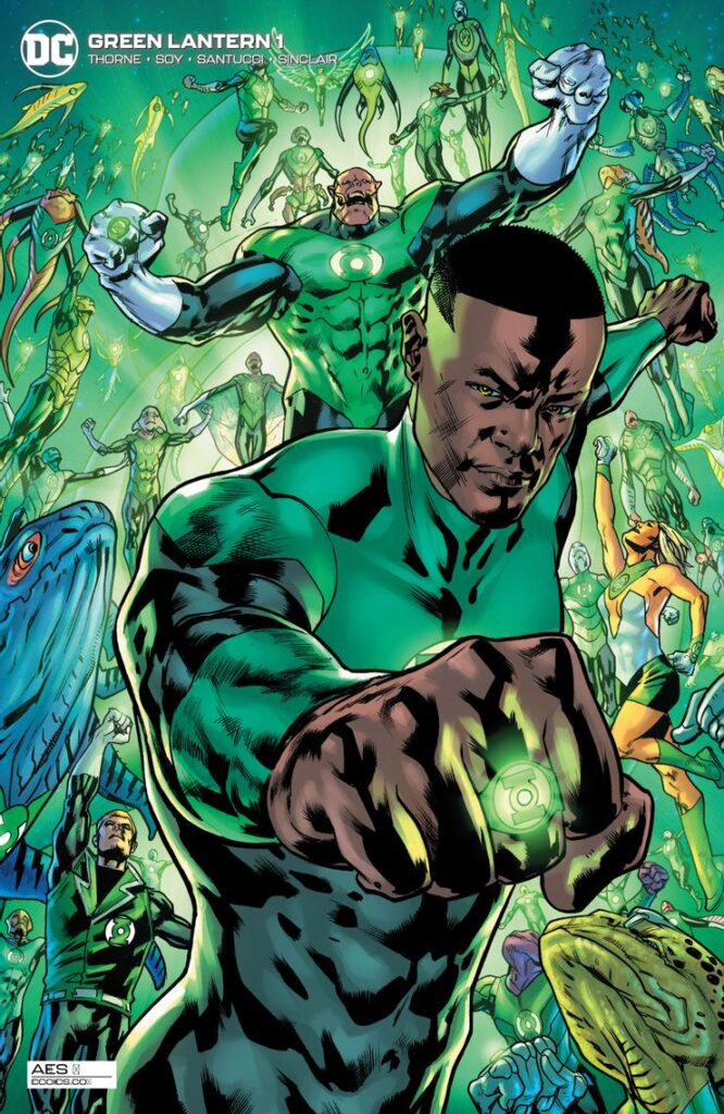 Preview VO - Green Lantern #1 34