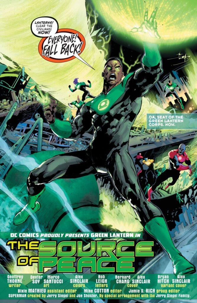 Preview VO - Green Lantern #1 35