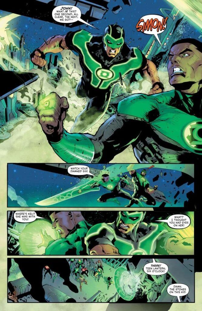 Preview VO - Green Lantern #1 36