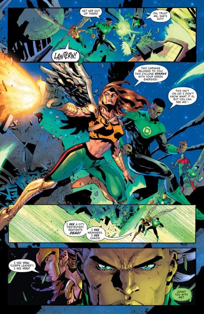 Preview VO - Green Lantern #1 37