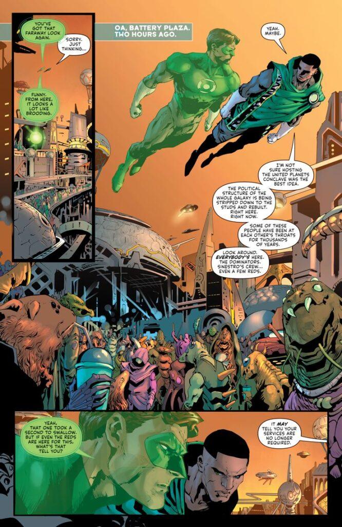 Preview VO - Green Lantern #1 38