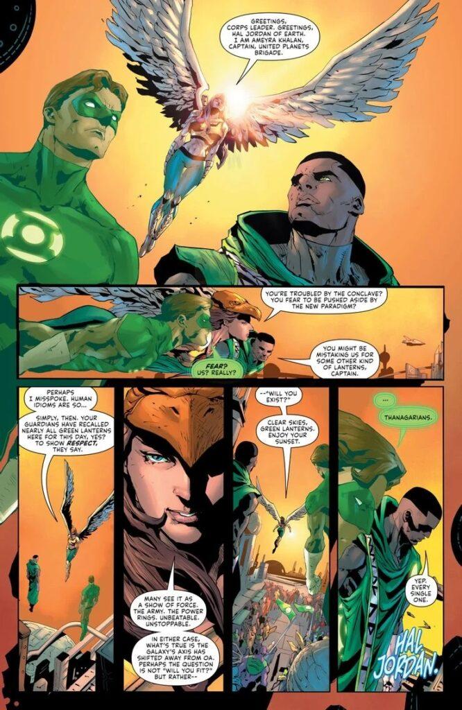 Preview VO - Green Lantern #1 39