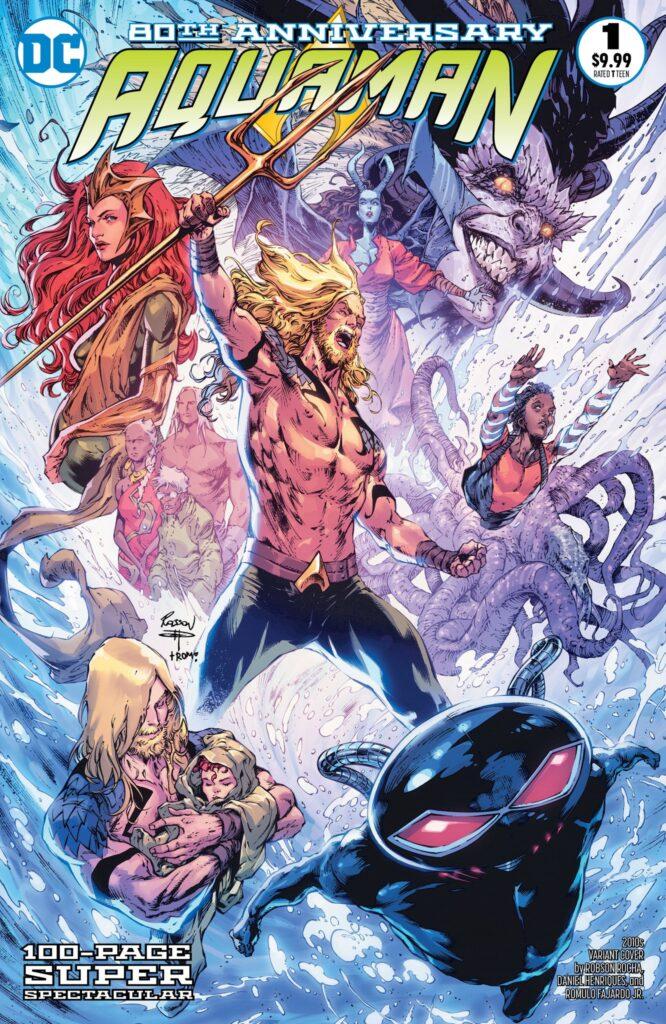Aquaman : deux mini-séries à venir et les équipes de son numéro spécial 80 ans dévoilées 36