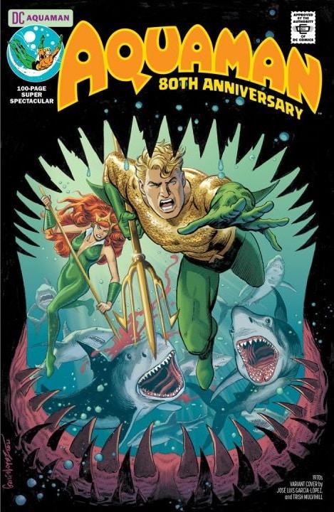 Aquaman : deux mini-séries à venir et les équipes de son numéro spécial 80 ans dévoilées 35