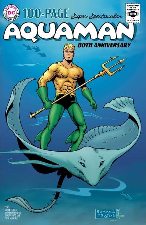 Aquaman : deux mini-séries à venir et les équipes de son numéro spécial 80 ans dévoilées 34