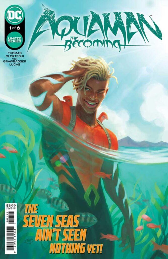 Aquaman : The Becoming, une mini-série sur Aqualad prévue pour septembre 27