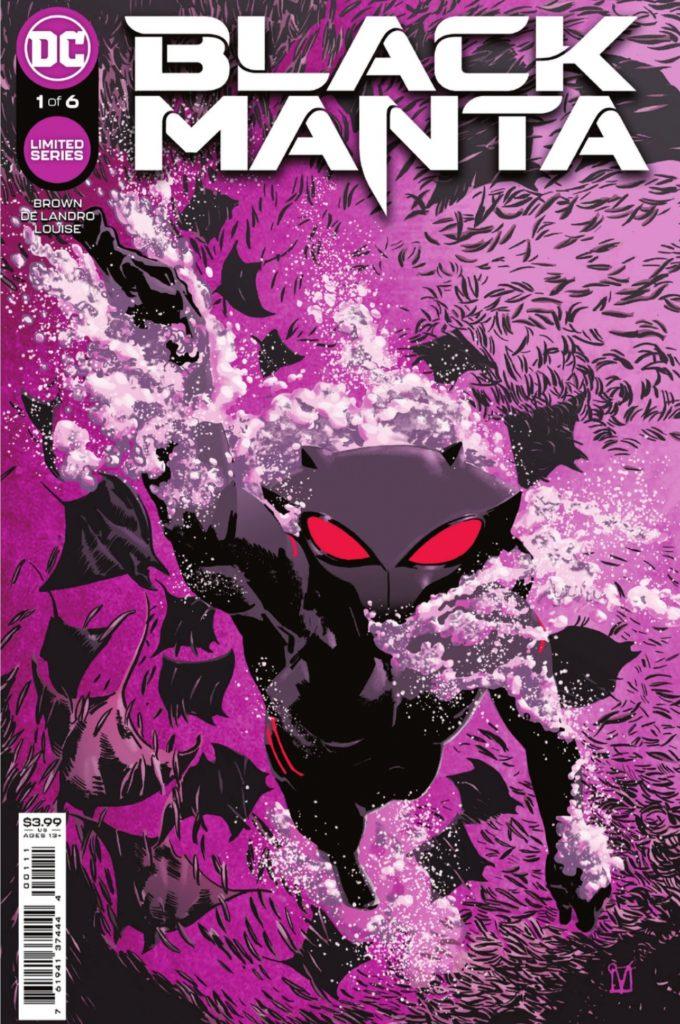 Une mini-série Black Manta par Chuck Brown et Valentine De Landro en septembre 33