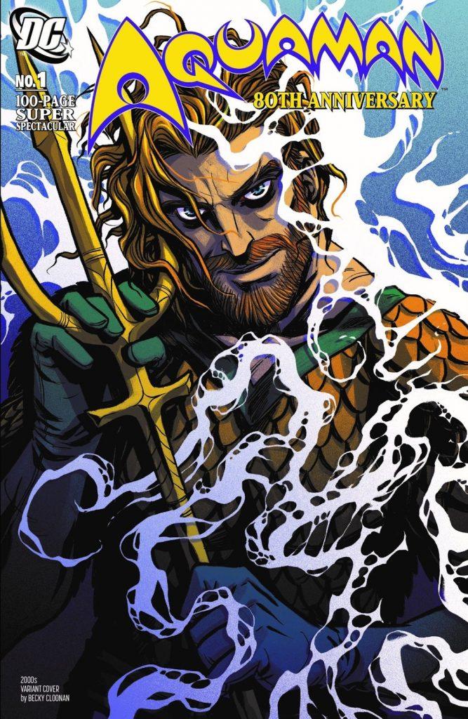 Aquaman : Découvrez les couvertures et le line-up du numéro anniversaire 42