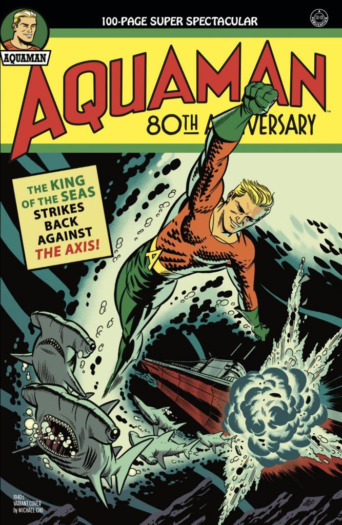 Aquaman : Découvrez les couvertures et le line-up du numéro anniversaire 36