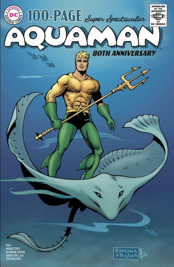 Aquaman : Découvrez les couvertures et le line-up du numéro anniversaire 37