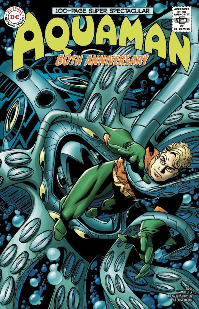 Aquaman : Découvrez les couvertures et le line-up du numéro anniversaire 38