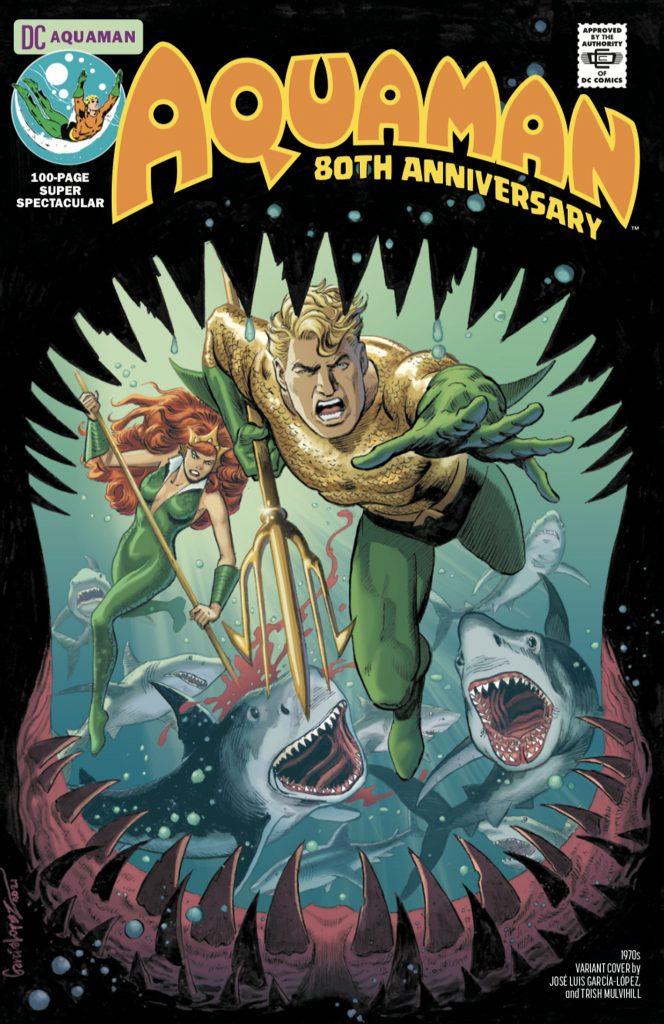 Aquaman : Découvrez les couvertures et le line-up du numéro anniversaire 39