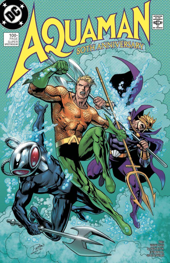 Aquaman : Découvrez les couvertures et le line-up du numéro anniversaire 40