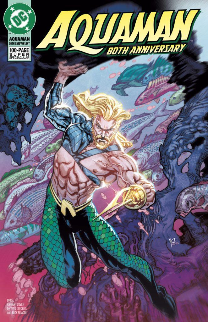 Aquaman : Découvrez les couvertures et le line-up du numéro anniversaire 41