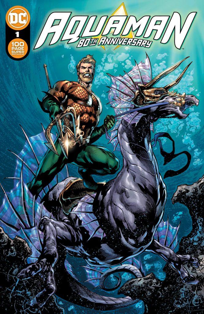 Aquaman : Découvrez les couvertures et le line-up du numéro anniversaire 35