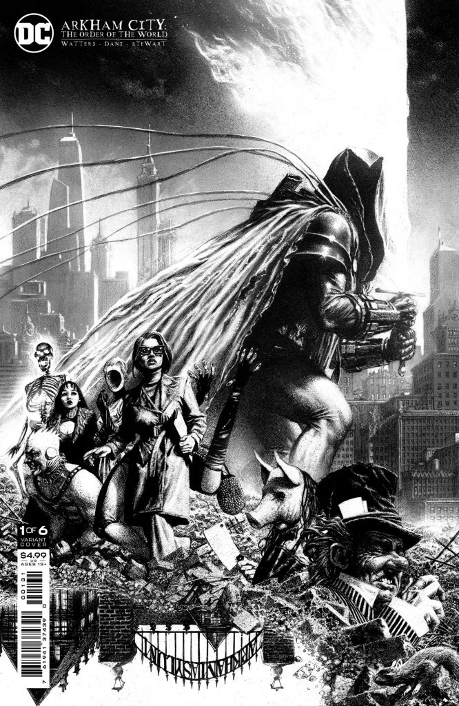 DC annonce Arkham City : The Order of the World pour octobre 2021 35