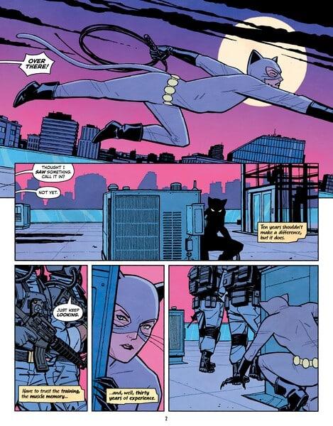 Cliff Chiang revient chez DC avec Catwoman Lonely City 40
