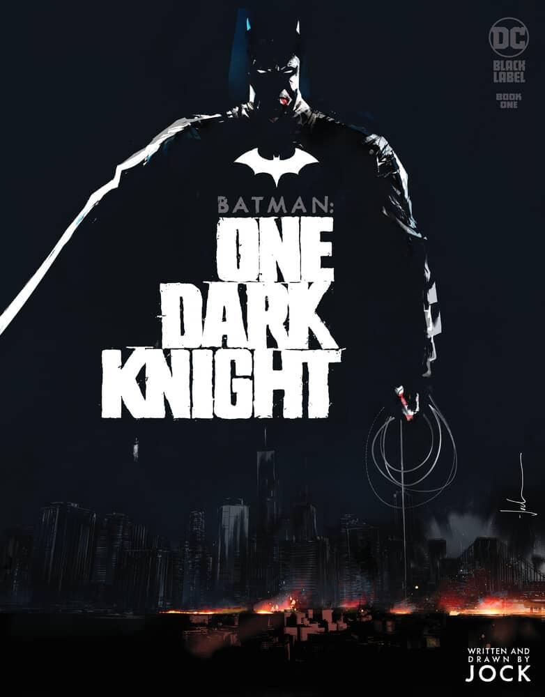 Batman : One Dark Knight, écrit et dessiné par Jock, arrive en décembre 38
