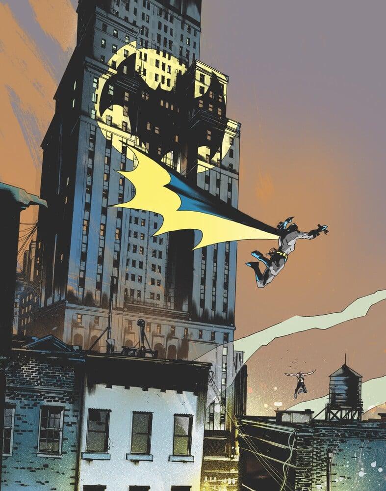 Batman : One Dark Knight, écrit et dessiné par Jock, arrive en décembre 35
