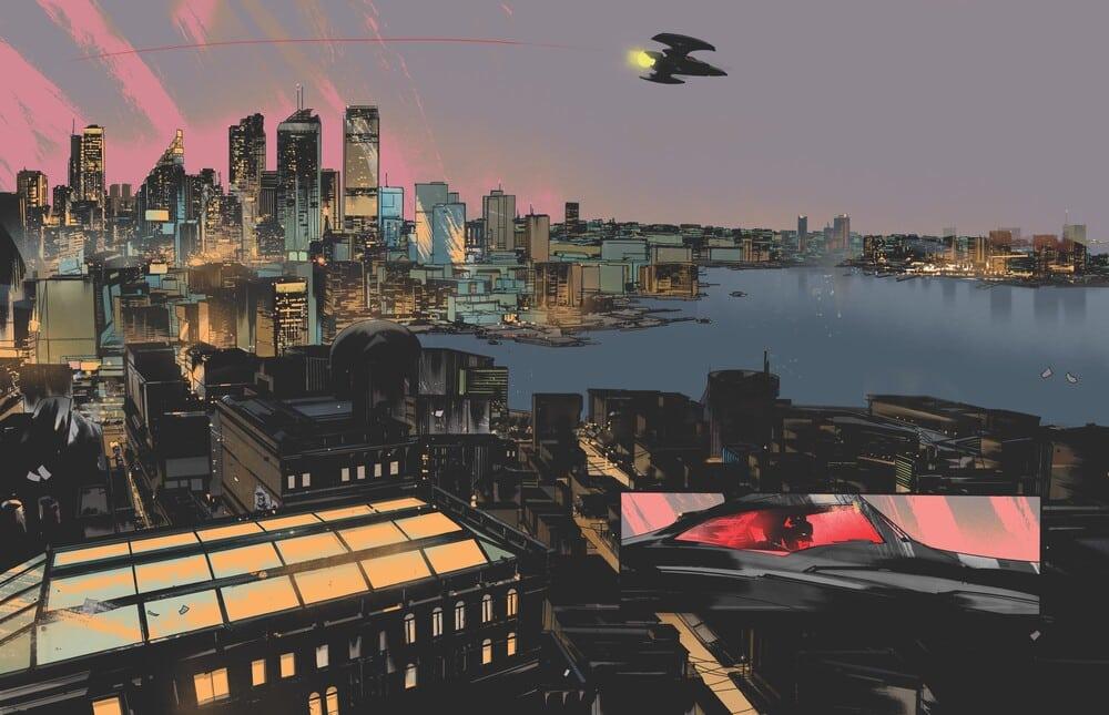 Batman : One Dark Knight, écrit et dessiné par Jock, arrive en décembre 37