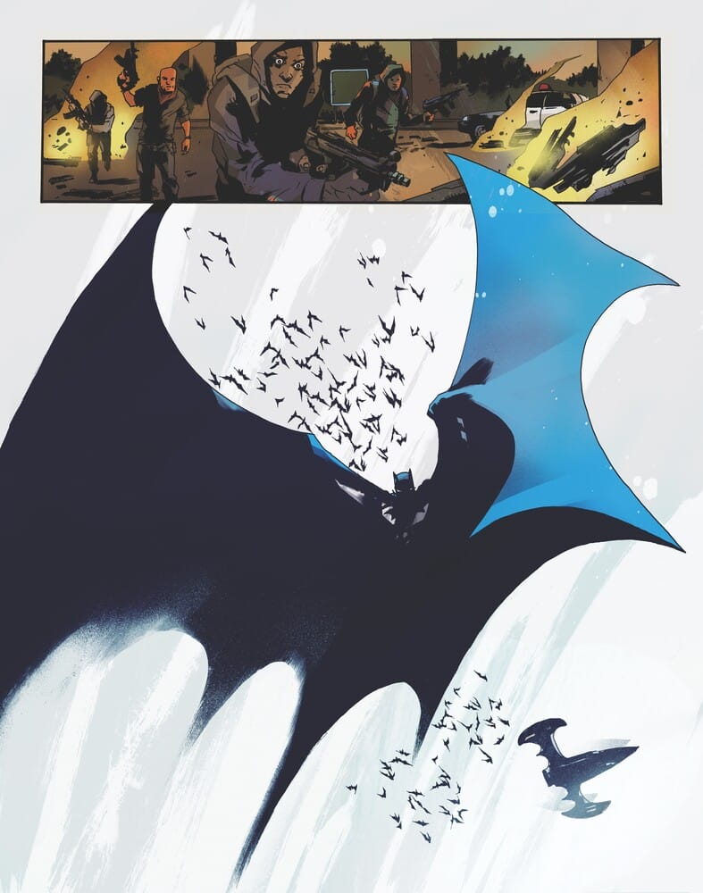 Batman : One Dark Knight, écrit et dessiné par Jock, arrive en décembre 36