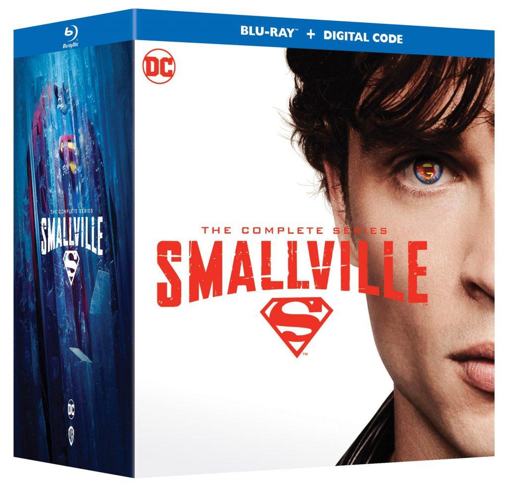 L'intégrale de Smallville arrive en Blu-Ray