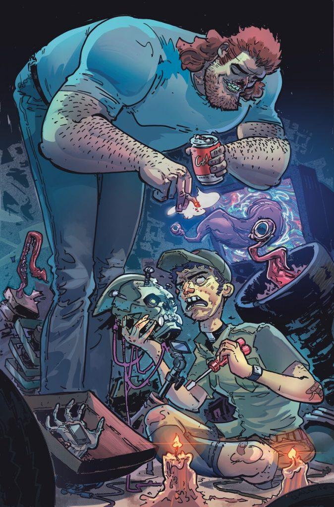 Soul Plumber, nouveau comics du DC Horror prévu pour octobre 2021 36