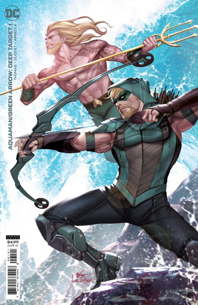 Aquaman et Green Arrow font équipe dans la nouvelle mini-série, Deep Target 36