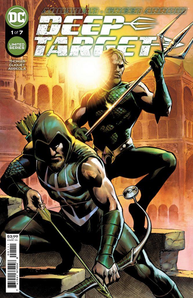 Aquaman et Green Arrow font équipe dans la nouvelle mini-série, Deep Target 35