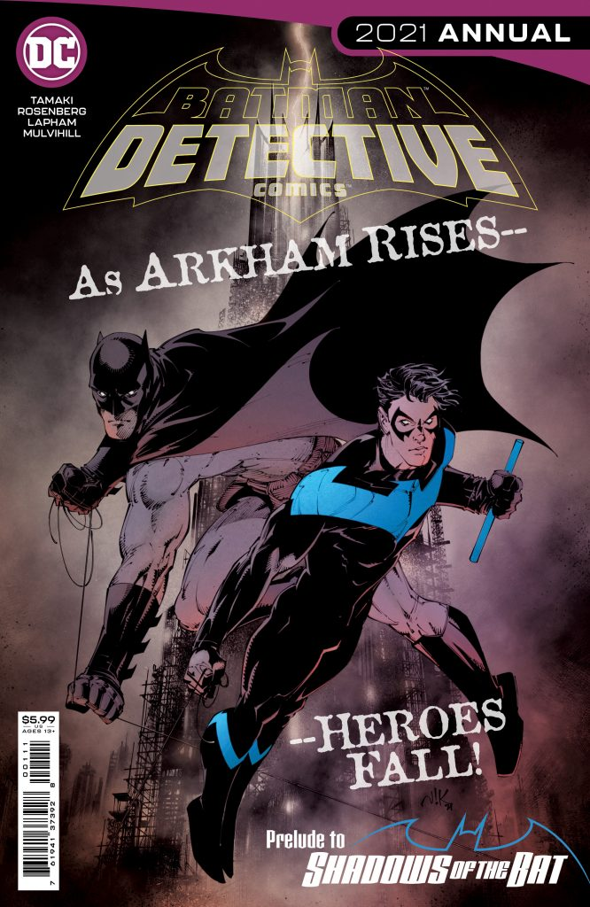 Batman ne sera plus à Gotham en novembre avec l'event Shadows of the Bat 28