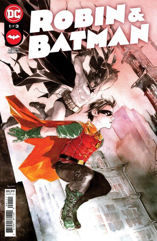 Une mini-série Robin & Batman par Jeff Lemire et Dustin Nguyen 27