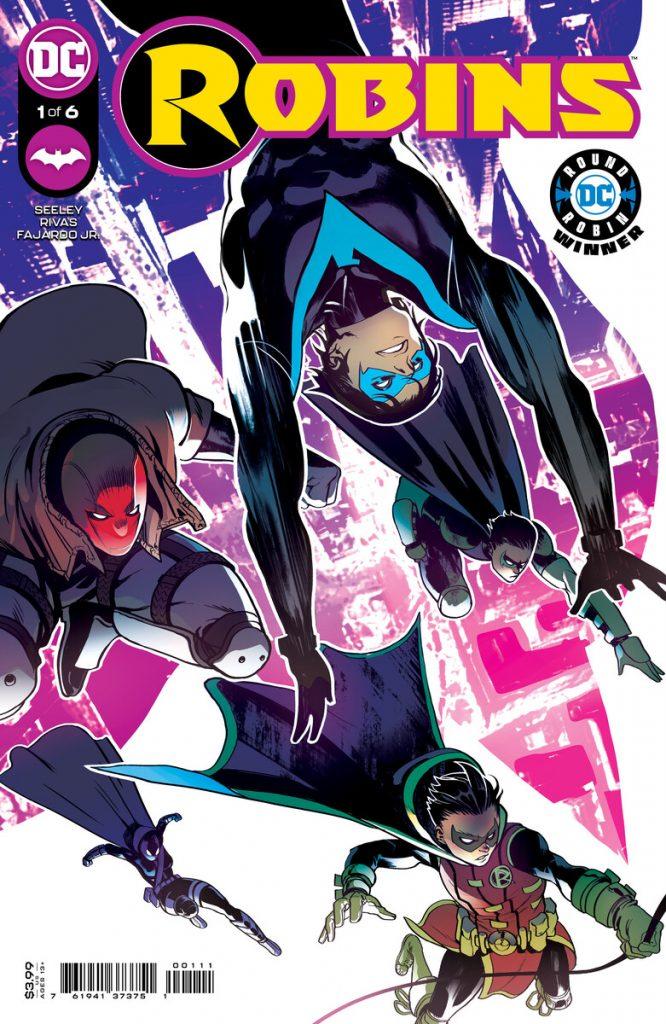 En novembre DC lance la mini-série Robins 27