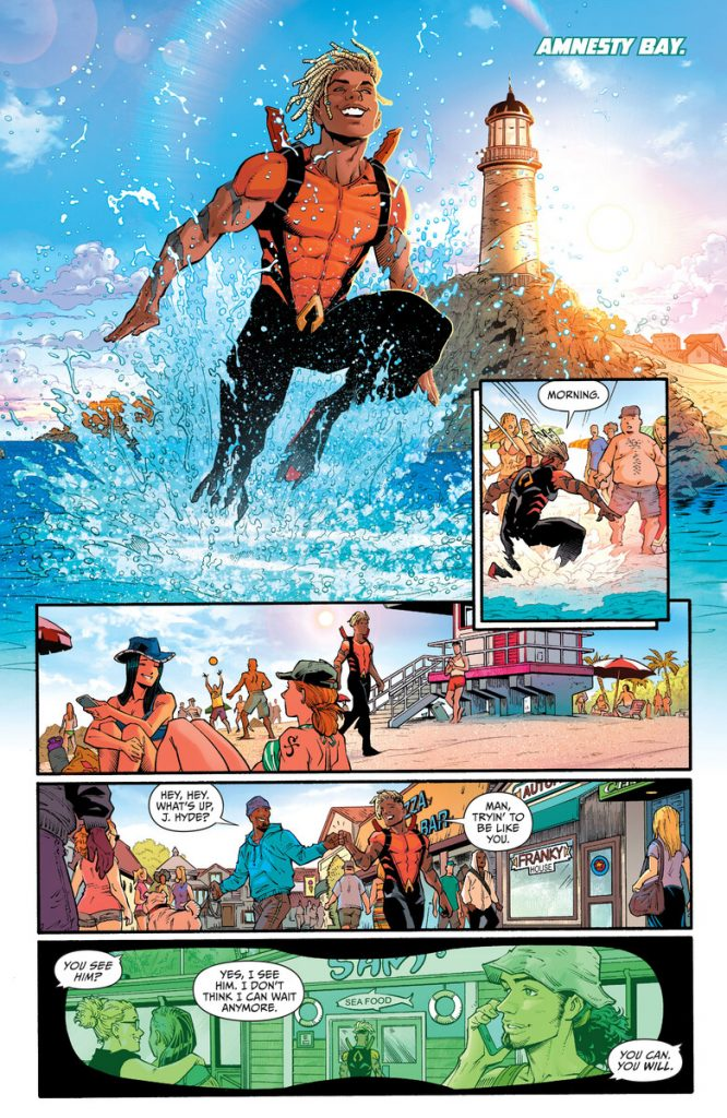 Preview VO - Aquaman: The Becoming #1 35