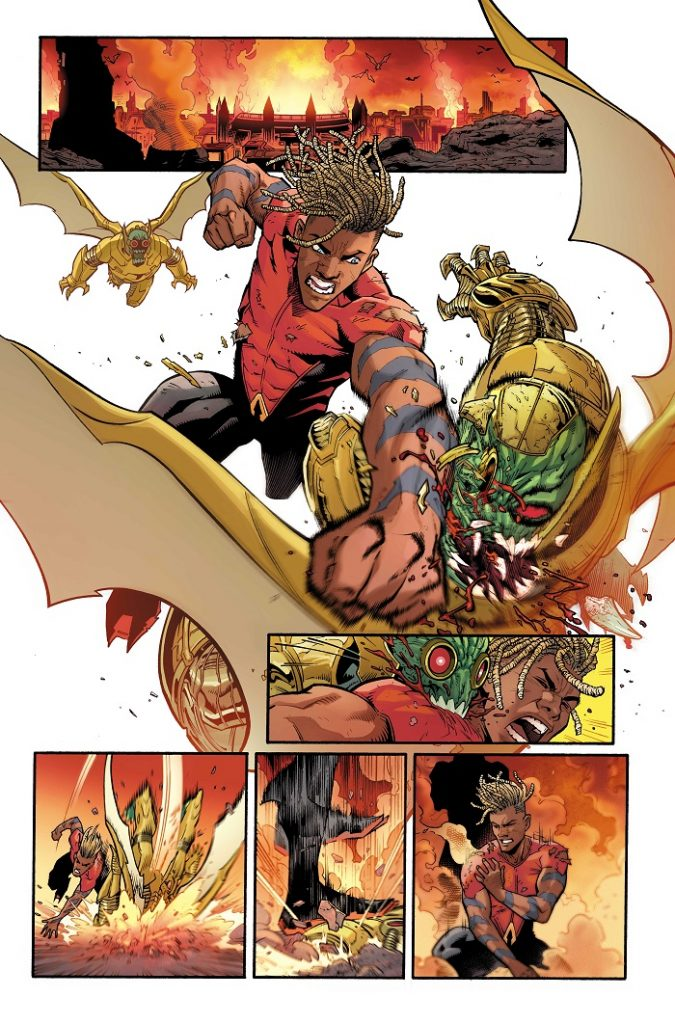 Preview VO - Aquaman: The Becoming #1 39