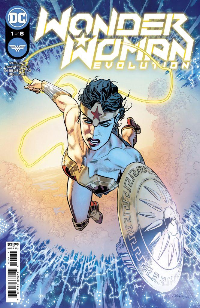 En novembre Wonder Woman va défendre l'humanité dans Wonder Woman : Evolution 29