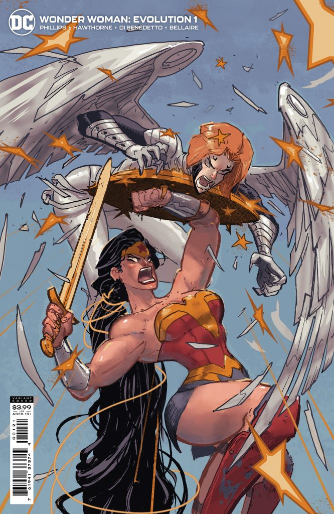 En novembre Wonder Woman va défendre l'humanité dans Wonder Woman : Evolution 30