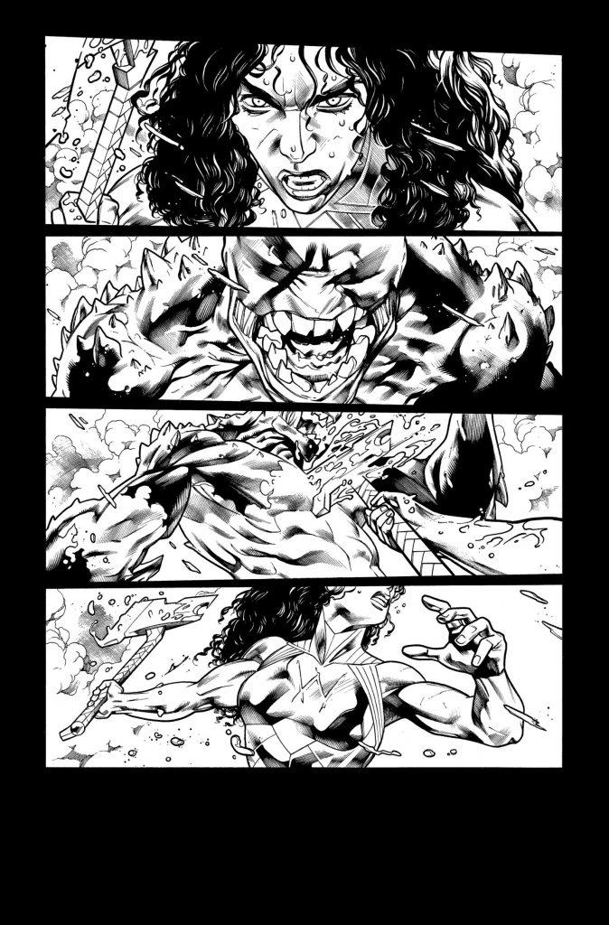 En novembre Wonder Woman va défendre l'humanité dans Wonder Woman : Evolution 31