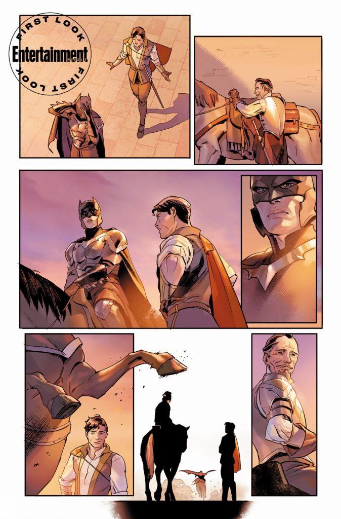 Tom Taylor et Yasmine Putri amènent Batman dans la fantasy avec Dark Knights of Steel 31