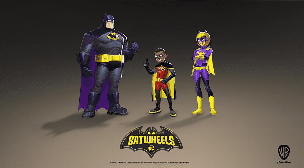 La série d'animation Batwheels se dévoile (Ethan Hawke est Batman) 27