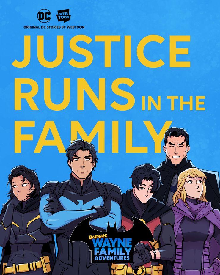 DC dévoile son premier webtoon, Batman : Wayne Family Adventures 29
