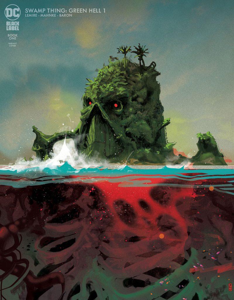 Swamp Thing : Green Hell par Jeff Lemire et Doug Mahnke en décembre 28