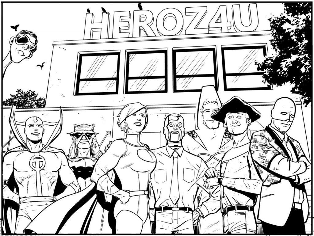 DC dévoile trois nouvelles sorties de décembre (Batgirls, World of Krypton, One Star Squadron) 42