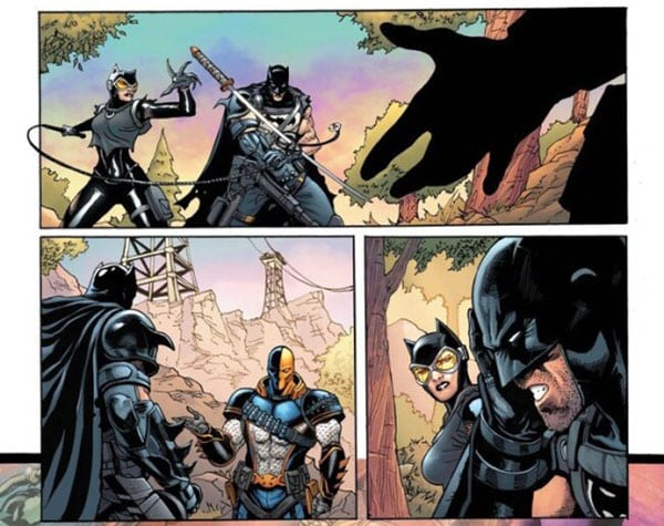 batman fortnite deathstroke