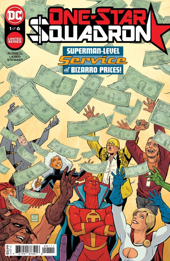 DC dévoile trois nouvelles sorties de décembre (Batgirls, World of Krypton, One Star Squadron) 40