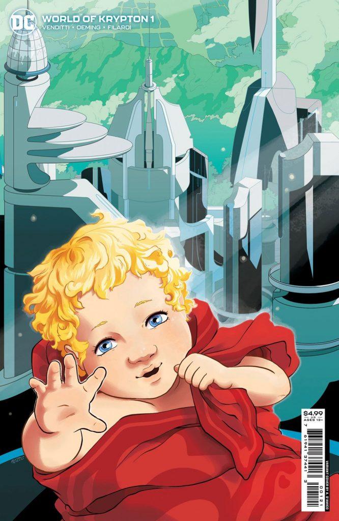 DC dévoile trois nouvelles sorties de décembre (Batgirls, World of Krypton, One Star Squadron) 37